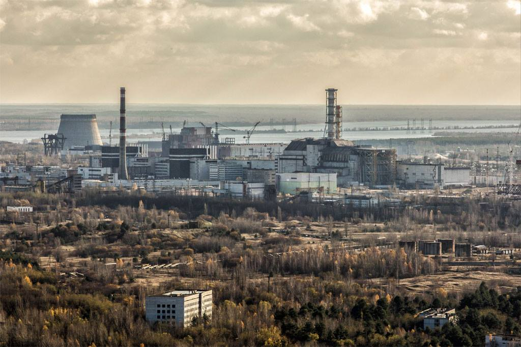 Chernobyl solar power plant