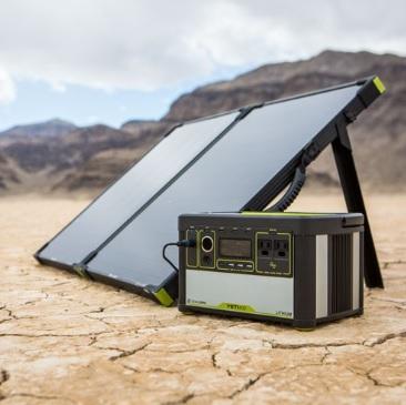 Goal Zero Boulder 100 Solar Briefcase and solar generator