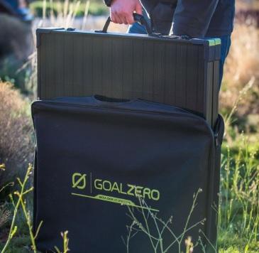 Goal Zero Boulder 100 Solar Briefcase