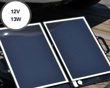 Solar briefcase capacity