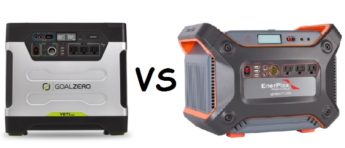 Goal Zero Yeti 1250 VS Ascent Y1200