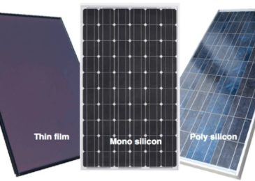 Monocrystalline VS Polycrystalline VS Thin film Solar panels